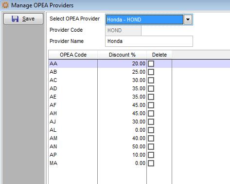OPEA Honda