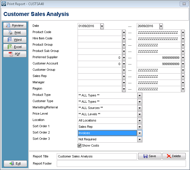 how do i see what my staff have sold infusion business software