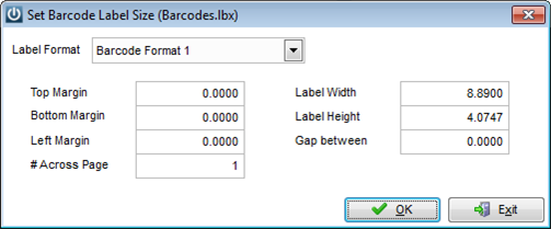 Label Printer Settings for Dymo Writer – Infusion Business Software