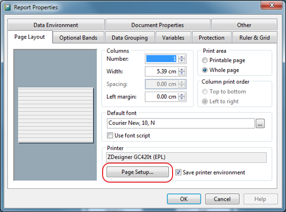 Label Printer Settings for ZDesigner – Infusion Business